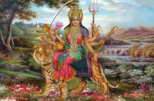 नवरात्री की शुभकामना शायरी
