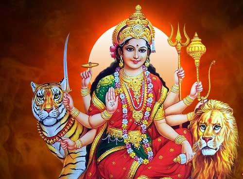 माँ दुर्गा की विनती शायरी